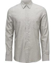 m. pierre houndstooth shirt overhemd casual grijs filippa k
