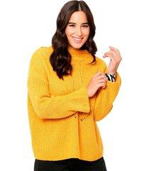 sweater amarras mostaza mostaza eclipse