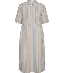 dress short sleeve dresses shirt dresses blå noa noa