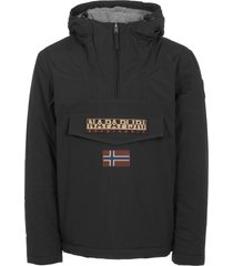 napapijri black rainforest winter jacket n0ygnj041