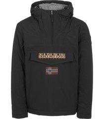 napapijri black rainforest winter jacket n0ygnj041