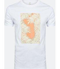 t-shirt i bomull - orange