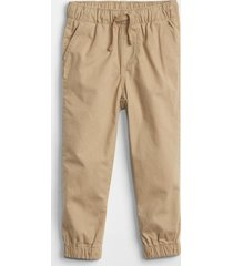 pantalon jogger toddler boy beige gap