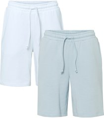 shorts in felpa (pacco da 2) (viola) - rainbow