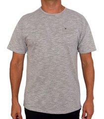 camiseta hurley df lagos port para hombre - gris