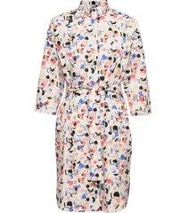boheme dress imagenation knälång klänning multi/mönstrad papu