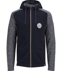 jack & jones vest - modern fit - blauw