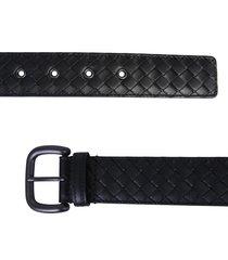 bottega veneta braided nappa belt with buckle
