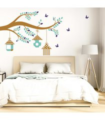 vinilo tingo tango casa de pájaros - mediano 140 x 90 cm