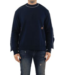 ambush fin knit sweater navy blue or