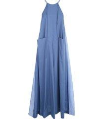 jejia mila long wide sleeveless dress