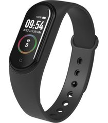 pantalla a color m4 smart pulsera brazalete impermeable de frecuencia