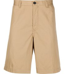 diesel poplin chino shorts - neutrals