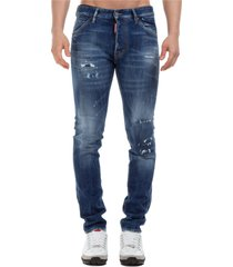 jeans uomo knee patch