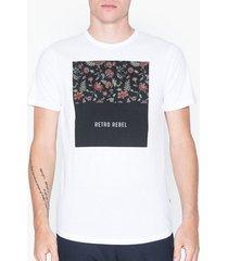 premium by jack & jones jprgray bla. tee ss crew neck t-shirts & linnen vit