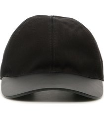 1017 alyx 9sm leather and fabric classic baseball cap