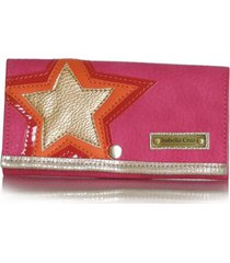 billetera star fucsia