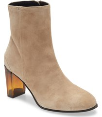 women's allsaints roka bootie, size 5us - grey