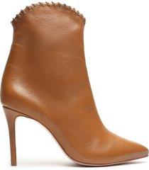 aydin bootie - 10 hazel leather