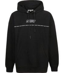 mcq alexander mcqueen initials logo front hoodie