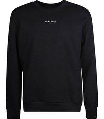 1017 alyx 9sm logo detail sweatshirt