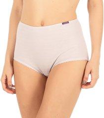 calcinha algodão cintura alta lavanda - 488.023 marcyn lingerie alta roxo