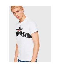 camiseta diesel t-diego-a7 masculina