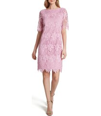 women's tahari chemical lace cocktail dress