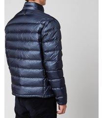 mackage men's james ripstop puffer jacket - navy - l