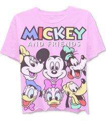 disney juniors' characters graphic t-shirt