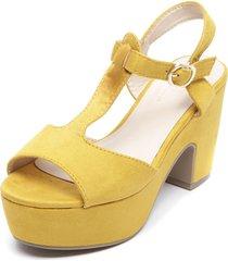 sandalia amarillo bonnyfranco
