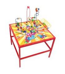 aramado mesa de coordenação carlu com 56 peças