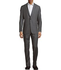 classic-fit milburn wool striped suit