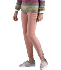 jeans med nitar amy vermont rosa