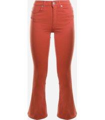 dondup bootcut jeans in stretch denim
