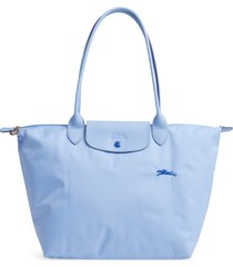 longchamp le pliage club tote - blue