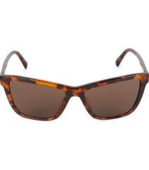 55mm square sunglasses