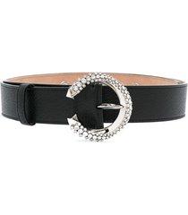 jimmy choo madeline belt - black