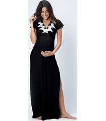 camisola joge longas preto