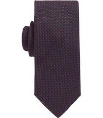boss men's silk-jacquard tie