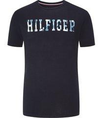 tommy hilfiger big & tall t-shirt donkerblauw