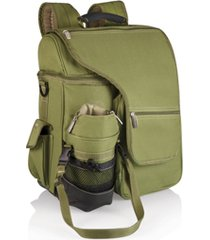 oniva by picnic time green turismo travel backpack cooler