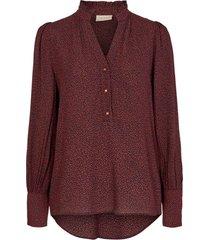 blouse adney bordeaux