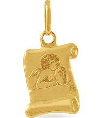 ciondolo holy oro giallo per unisex