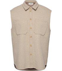helia waistcoat vests knitted vests beige norr