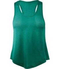 camiseta musculosa holgada verde andesland
