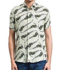 camisa salt 35g manga curta ramos masculina