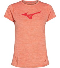 core graphic rb tee t-shirts & tops short-sleeved rosa mizuno