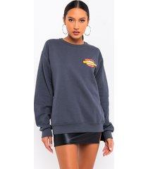 akira imma savage long sleeve sweater
