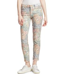 looker mid-rise ankle skinny jeans